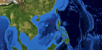 South East Asia from above