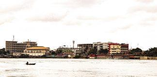 Cotonou across the water